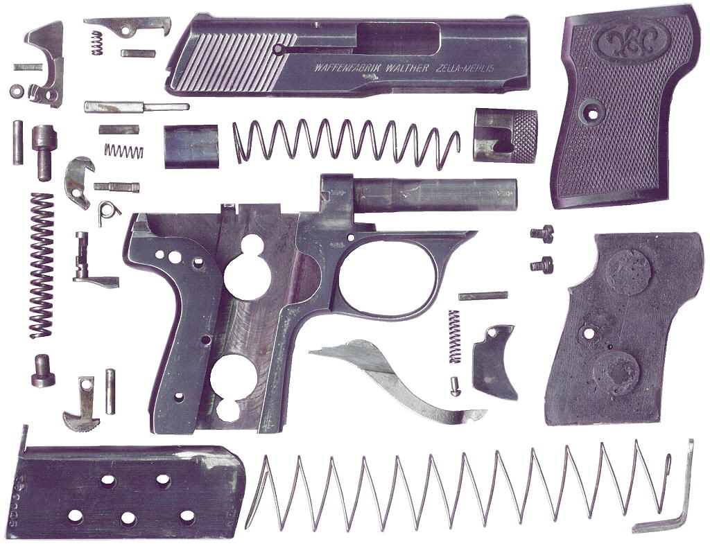 Disassembly Walther Walther Model 5 Disassembly
